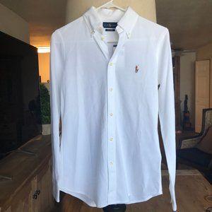 Ralph Lauren White Polo Shirt NWT